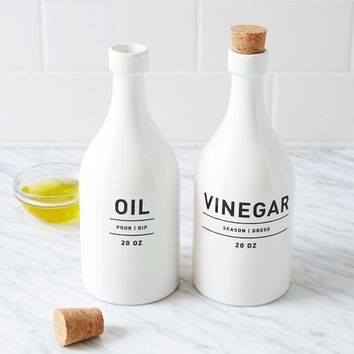 Utility Oil + Vinegar Set