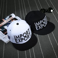 Hip-hop Hats Outdoors Couple Stylish Alphabet Fashion Baseball Cap [9730951811]
