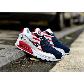 NIKE AIR MAX 90 fashion ladies men running sports shoes sneakers  F-PS-XSDZBSH 3ea9da50a2