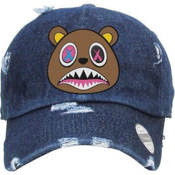 Crazy Baws Denim Dad Hat