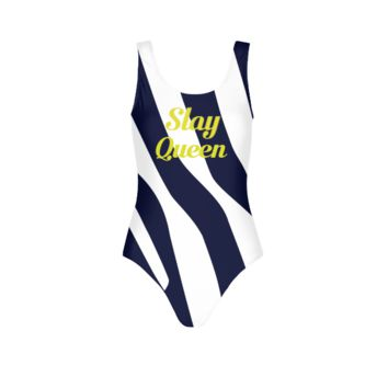 DEFAULT DESIGN 7 WOMENS ALL-OVER PRINT  ONE-PIECE SWIMSUIT