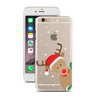 Christmas Reindeer - Winter - Snow - Super Slim - Printed Case for iPhone - S057