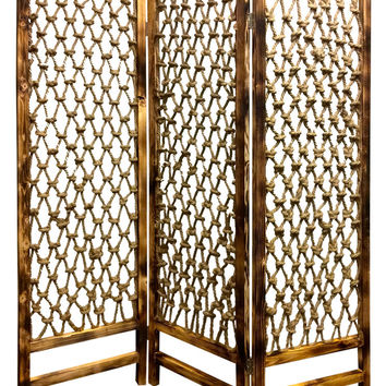 Screen Gems Rope Screen Room Divider