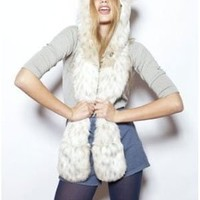 Authentic Snow Leopard Full Hood by Spirithoods