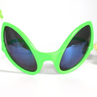 Funny Alien  Party Glasses PC Material Sunglasses and Mask for Birthday and Festival Party Supplies Decoration