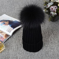 Absolutely Gorgeous Russian Knit Pompom Hat.