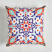 Boho Sharing Is Carousel Pillow by ModCloth