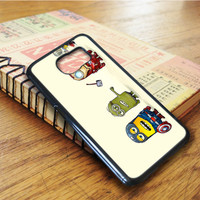 The Avengers Minion Despicable Me Super Heroes Hulk Captain American Ironman Thor Samsung Galaxy S6 Edge Case