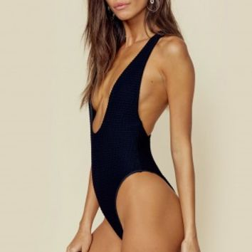 PLUNGING RACERBACK ONE PIECE
