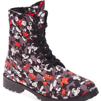 Mickey Mouse™ Combat Boots   Wet Seal