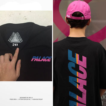 Palace Front And Back Reflective T-Shirt