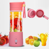 Portable USB Electric Fruit Juicer Citrus Ice Crusher Smoothie Maker