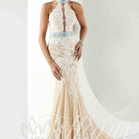 Tiffany Prom Dresses 16150 at Peaches Boutique