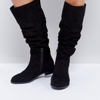 ASOS CAPITAL Slouch Knee Boots at asos.com