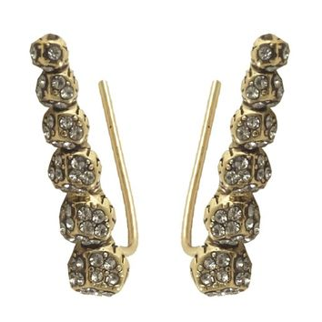 House of Harlow 1960 Jewelry Sama Ear Crawler