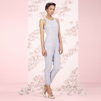 LC Lauren Conrad Runway Collection Lace Open-Back Jumpsuit - Women's