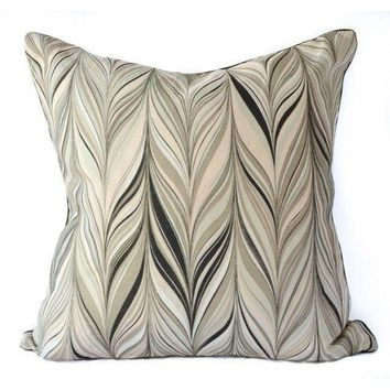 Pre-owned Firenze By Mary Mcdonald Linen Pillow