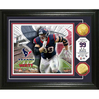 J.J. Watt Gold Coin Photo Mint