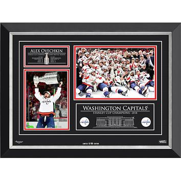 ALEXANDER OVECHKIN & THE WASHINGTON CAPITALS STANLEY CUP CHAMPS, LTD ED 8 OF 88