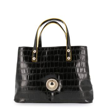 Versace Jeans  Women Black Handbags