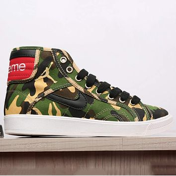 "NIKE Jordan's 35th Anniversary ""Supreme"" Men and Women Trend Casual Shoes F-CSXY"
