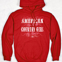 Women's Country Girl® American by Birth Relaxed Pullover Hoodie