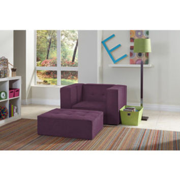 Walmart: Serta Comfy Lounger Kids Chair and Ottoman Set, Multiple Colors