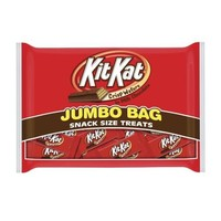 Kit Kat Snack Size Candy Bar, Crisp Wafer in White Chocolate, 20.1-Ounce Jumbo Bags (Pack of 3)
