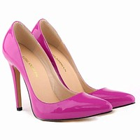 New Design Pointed Toe High Heels Wedding Shoes