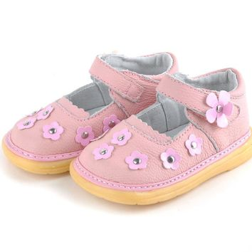 2017 new style childrens sandals girls sandals hot sale leather children shoes girls s