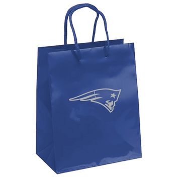 New England Patriots Gift Bag - Elegant Foil