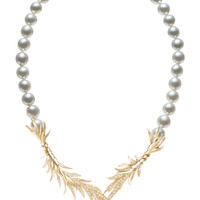 Tasaki High Jewelry Gold Pearl Necklace | Moda Operandi