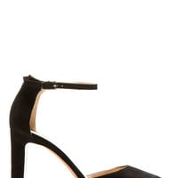 Valentino Black Suede Cult Pump