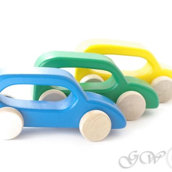 Wooden Toy, Wooden Car