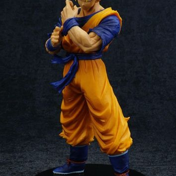 Dragon Ball Z Son Gohan Future Hero Adult Battle Edition Trunks Teacher Awakening Of Soldiers Action Collectible Model Toy 21cm