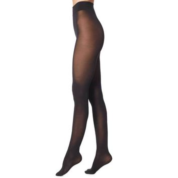Wolford Pure 50 Black Tights
