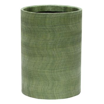 Merida Leaf Round Wastebasket