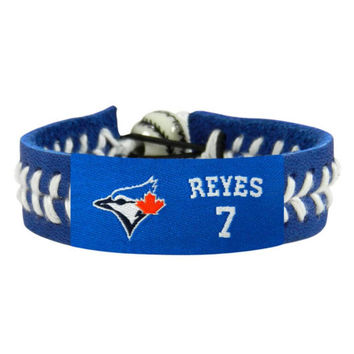Gamewear Team Color Wristband - MLB New York Mets Jose Reyes