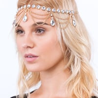 Dazzle Me Bejeweled Head Chain
