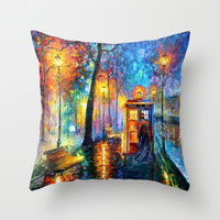 The Doctor Starry the night Art painting iPhone 4 4s 5 5c 6, pillow case, mugs and tshirt Throw Pillow by Three Second | Society6