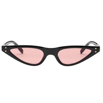 Katy Narrow Pink Sunnies