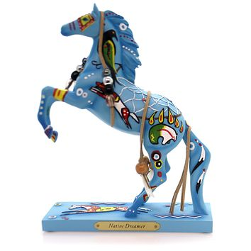 Trail Of Painted Ponies Native Dreamer Figurine
