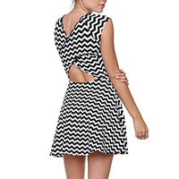 LA Hearts Cross Back Fit N Flare Dress at PacSun.com