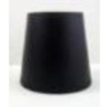 "68544 - Black With Gold Interior Candelabra Clip On Lampshade 3"" Top X 5"" Bottom X 4"" Height"