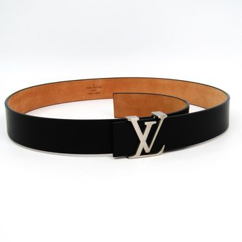 Louis Vuitton Women's Leather Belt Black 80 M6901Q BF322149