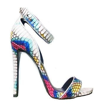 LONDON TRASH PHOENIX SANDAL - WHITE MULTI