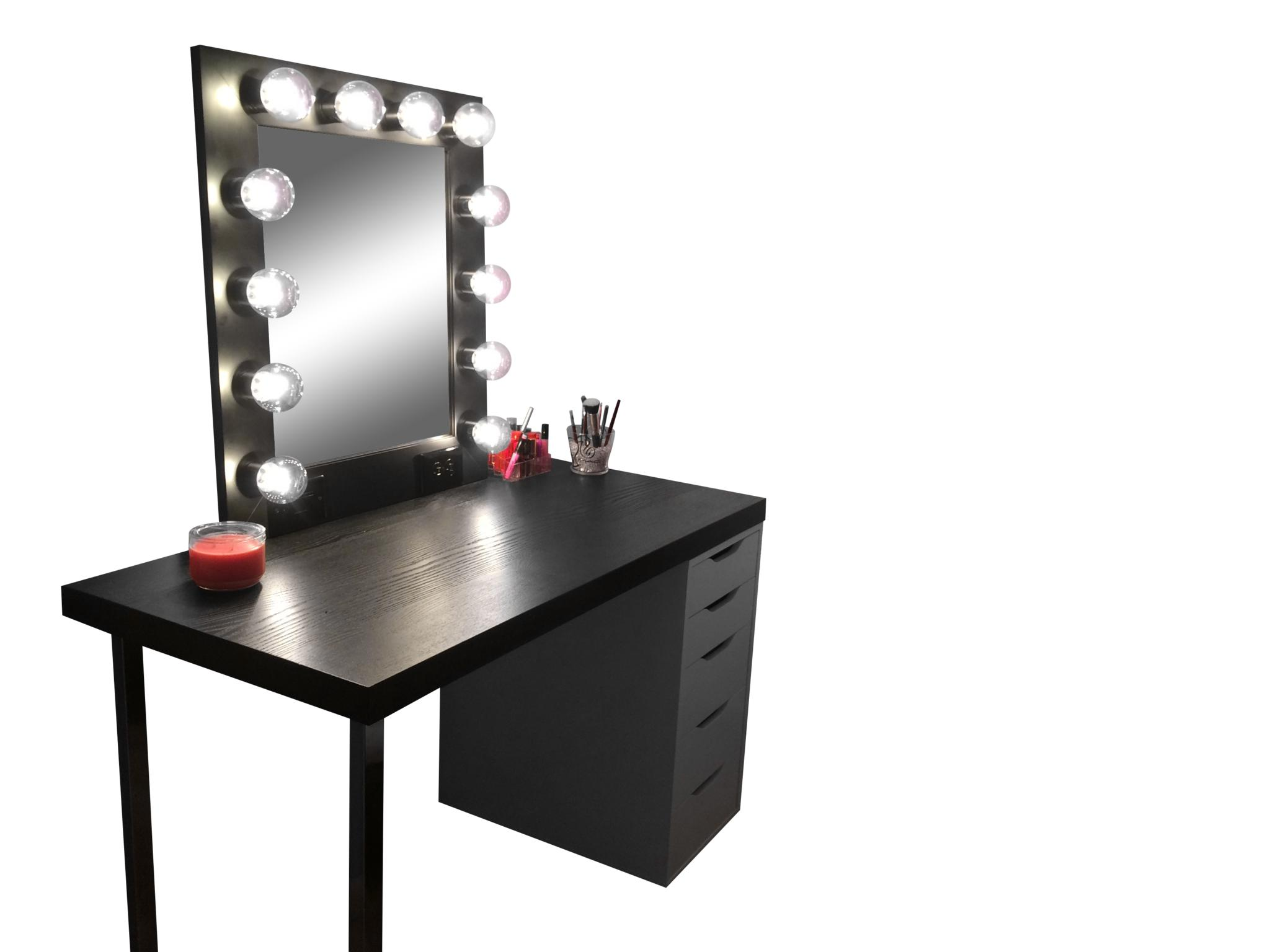The Hollywood Vanity Makeup Mirror Matte From