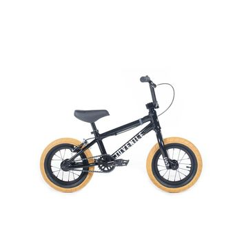 "CULT JUVENILE 12"" A BLACK W/ GUM TIRES COMPLETE BMX BIKE 2019"