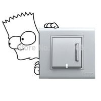 children bedroom Light Switch Stickers Wall Stickers Home Decoration Bedroom Parlor Decoration