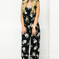 Playful Floral Jumpsuit